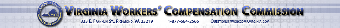 Virginia Workers' Compensation Commission